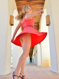 Veronica Hottie In Red pictures at kilosex.com
