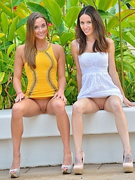 Mary and Aubrey Sexy Romantic pictures at kilovideos.com
