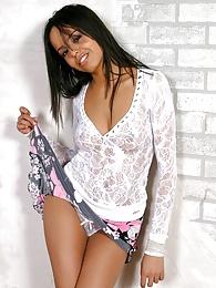 Ziena may be petite but she has the perfect perky tits pictures at find-best-lingerie.com
