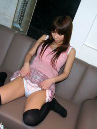Ruri, horny Japanese slut enjoys a bath before going out to find a horny partner pictures at sgirls.net