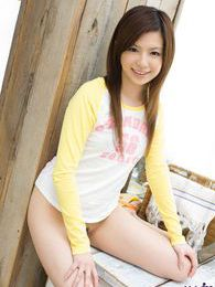 Japanese teen cutie poses in pjs then takes them off for a great shot of her body pictures at lingerie-mania.com