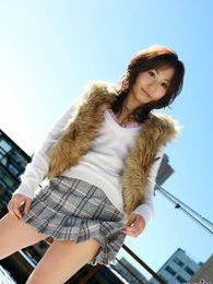 Japanese teen model has a nice round ass and hot tits to go with it pictures at freekilosex.com