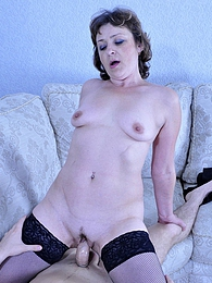 Cock-hungry milf makes passes at a much younger boy eager for some bonking pictures at find-best-lesbians.com