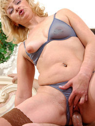 Plump mature babe undresses luring a serviceman into hot doggystyle fucking pictures at kilopics.com