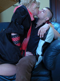 Clad as a girl sissy guy ready for harsh anal with wild blowjob in the end pictures at kilopills.com