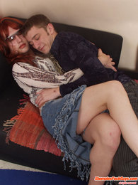 Nasty sissy guy burning with desire in frenzied gay suck-n-fuck amusement pictures at sgirls.net