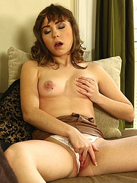 Fira Ventura has fun with her pussy in the living room pictures at adspics.com