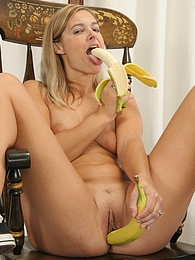 Alanna never leaves home without eating her breakfast! pictures at kilogirls.com