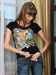 Ukrainian teen looking super hot pictures at freekilosex.com