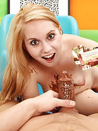 Willing naked chick covered in chocolate fucking hardcore pictures at lingerie-mania.com