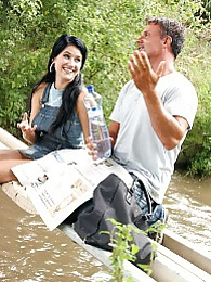 Horny teenage couple fucking publicly over a river hardcore pictures at nastyadult.info