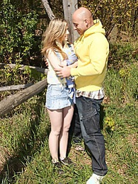 A horny forest ranger fucking a very cute teenage hiker pictures at dailyadult.info