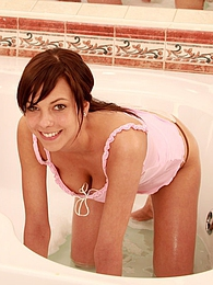 Sweet lesbian teens are having a great time in the badtube pictures at freekilosex.com