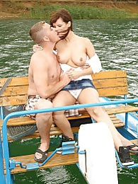 There are many exciting things to do on a boat but this wins pictures at find-best-tits.com