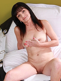 Older granny Ginger Kovra fingering her mature pussy pictures at dailyadult.info