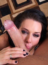 Veronica Craves Cock Pics - Sexy MILF Veronica Avluv is a middle aged super freak that is at her sexual prime pictures at freekiloporn.com