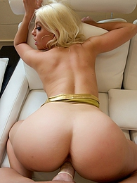 The Birthday Dancer Pics - Blond and busty Britney Amber pics