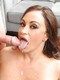 Claudia Bj Fun Pics - Claudia Valentine blowjob pictures at lingerie-mania.com