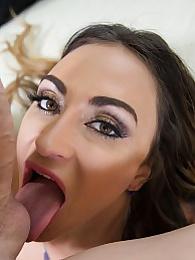 Claudia Valentine POV Perfection Pics - her oral skills are amazing pictures at lingerie-mania.com
