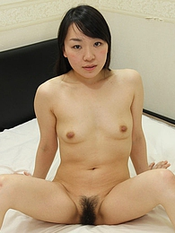 Mayu Kudo strips down to pose naked and bend over to show us her sexy Japanese booty pictures
