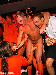 Gay hotshots banging tight butts at a giant horny party pictures at kilosex.com