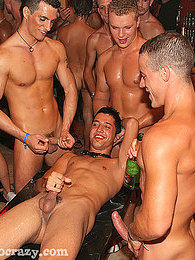 Handsome hot gays love swinging their cocks around the room pictures at find-best-mature.com