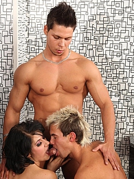 The best and horniest BiSex videos where everyone can join! pictures at freekilomovies.com
