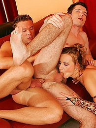 Sperm eating dude gets fucked in the ass and some pussy pictures at kilosex.com