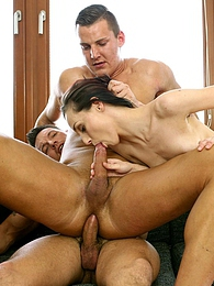 Fuck him in the ass while he licks her pussy why not try it? pictures at kilogirls.com
