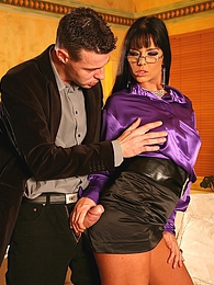 Clothed horny sweetheart screwed by a big swinging pecker pictures at kilovideos.com