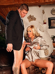 Pretty cothed willing babe nailed by horny dude hardcore pictures at find-best-pussy.com