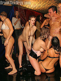 Crazy drunk party girls eating pussy and sucking hard cocks pictures at kilosex.com