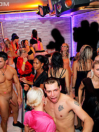 Crazy hot intoxicated chicks drilling cocks at the club pictures at freekilosex.com
