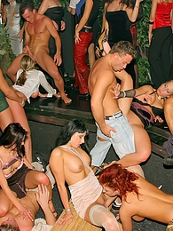 Horny girls all love to fuck at this crazy drunken sex orgy pictures at kilopics.com