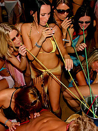 Willing teenage chicks penetrated at a large beach party pictures at lingerie-mania.com