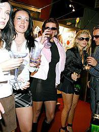 Partying drunk chicks giving hot blowjobs at wild sex party pictures at freekilosex.com