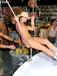 Sexy naked alcohol drinkers penetrated by horny fellows pictures at lingerie-mania.com