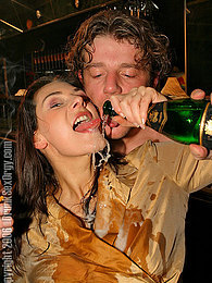 Crazy drunken partygirls sucking and fucking guys on stage pictures at freekiloporn.com
