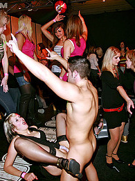 Hot and wild drunk partiers sucking and fucking everywhere pictures at lingerie-mania.com