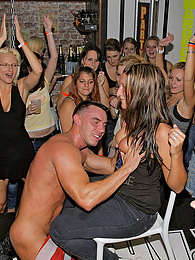 Drunk sweethearts blowing peckers at an imposing sex club pictures at find-best-lingerie.com