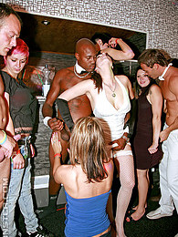 Very horny dancing dudes screwing innocent cuties hardcore pictures at freekilomovies.com