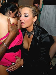 Strippers shagging drunk hotties at a giant fucking club pictures at find-best-lesbians.com