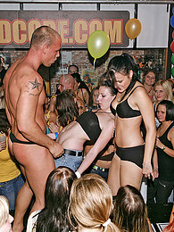 Cute drunk babes at a party screwing hot dancing fellows pictures at freekilopics.com