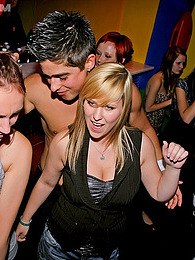 Horny party girls love banging hot male strippers publicly pictures