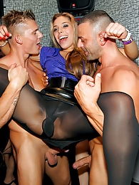 Crazy turned on sluts getting fucked up on stage at a party pictures at kilopills.com
