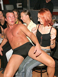 Strippers getting their solid peckers sucked at a party pictures at freekilomovies.com