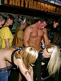 Adorable crazy daring girls love undressing at a sex club pictures at lingerie-mania.com