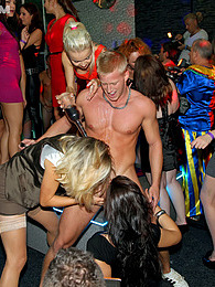 Wild party sluts drink and suck lots of strangers cocks pictures at kilopills.com