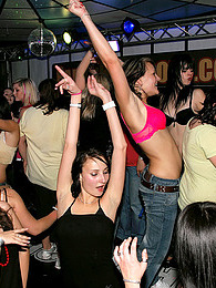 Dancing very horny sweethearts banged hardcore in public pictures at adspics.com