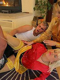 They get not only fucked but also get a hot golden shower pictures at find-best-mature.com